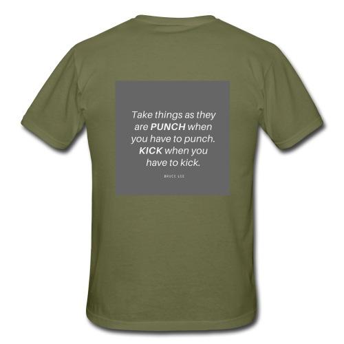 Punch and Kick - Männer T-Shirt