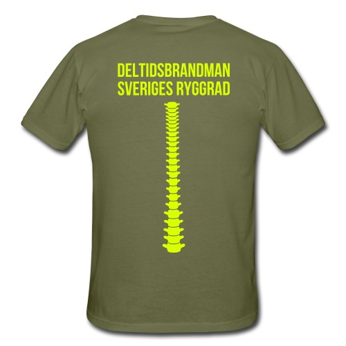 Sveriges ryggrad - T-shirt herr