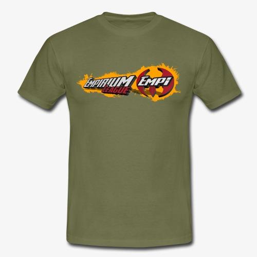 Logo EMPi fond jaune - T-shirt Homme