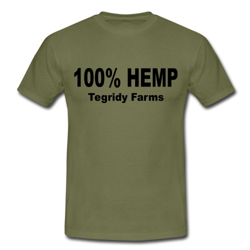 Tegridy Farms 100 % Hemp Parody T-Shirt - Men's T-Shirt