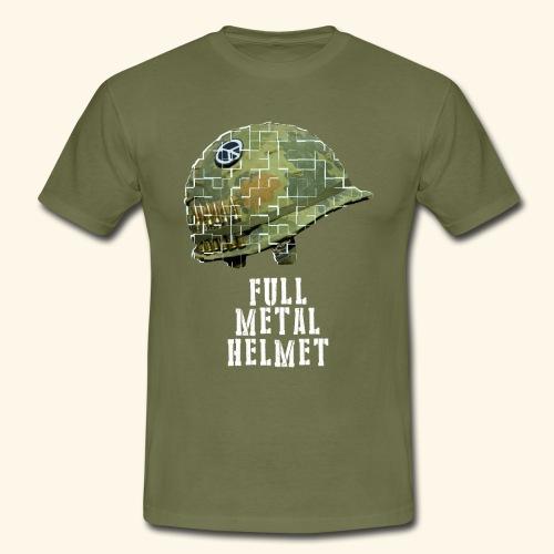 Full Metal Helmet - T-shirt Homme