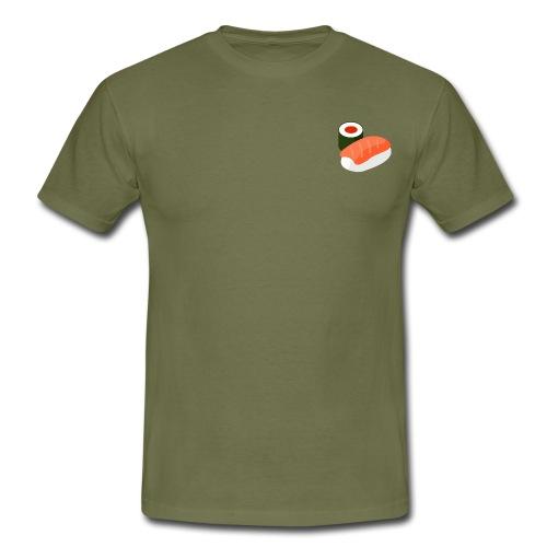 lax och rulle - sushi - T-shirt herr