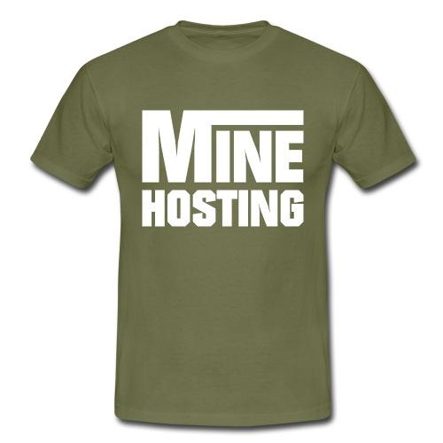 Mine Hosting Corporate Kampagne - Männer T-Shirt