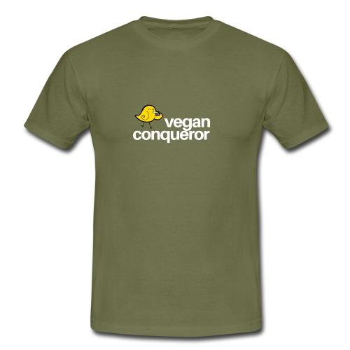 Vegan Conqueror - Männer T-Shirt