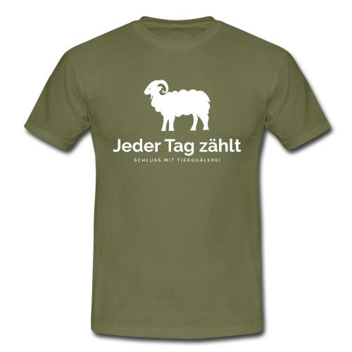 Jeder Tag zählt - Männer T-Shirt