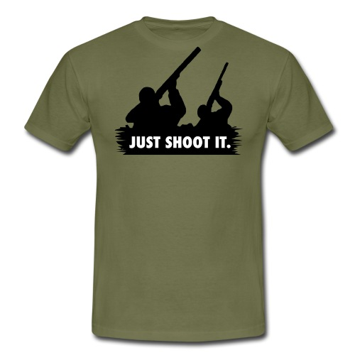 Just shoot it. - T-shirt Homme