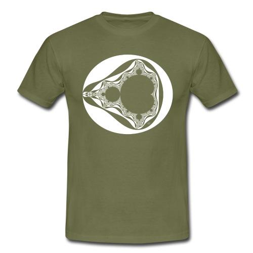 Classic Mandelbrot - Mannen T-shirt