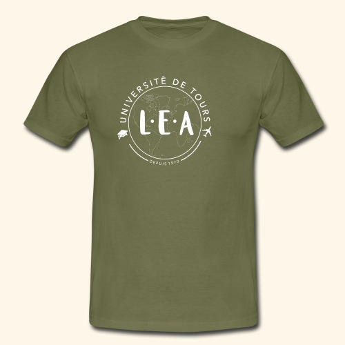 L.E.A Blanc - T-shirt Homme