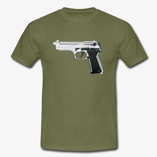 Original BAD Pistol Logo With (LIMITED EDITION) - Maglietta da uomo