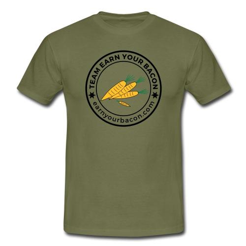 earnyourbacon veggie - Männer T-Shirt