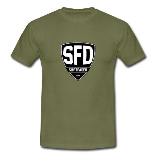 Shield Logo - Mannen T-shirt