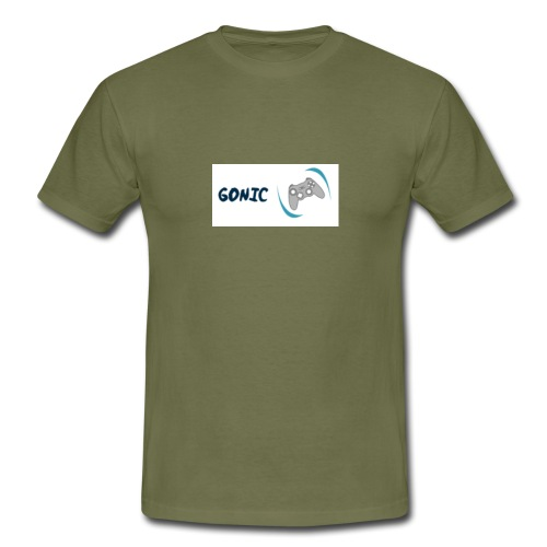 Gonic logo   Flippin' controller - T-shirt herr