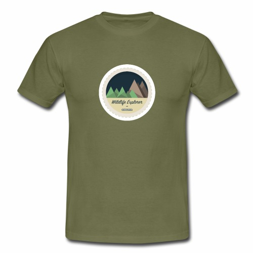 Badge - Wildlife Explorer - Men's T-Shirt