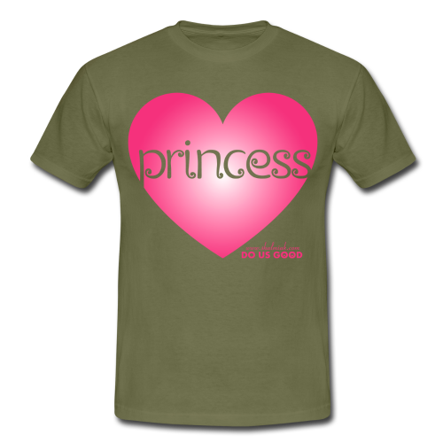 PRINCESS - Miesten t-paita