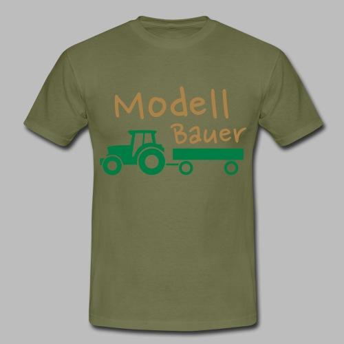 Modellbauer - Modell Bauer - Männer T-Shirt