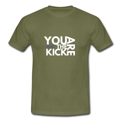 LOGO THE KICK REVERSED - Mannen T-shirt