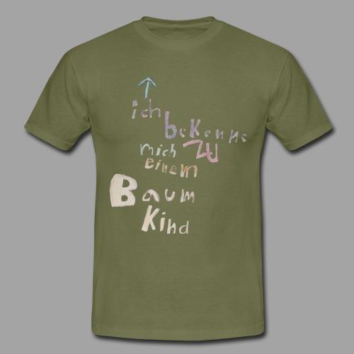 Bekkenungsmerkmal-design--- - Männer T-Shirt