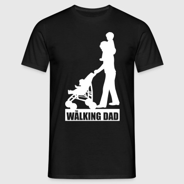 Walking Dad 2 huckepack - Männer T-Shirt