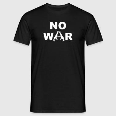 No War - T-shirt herr