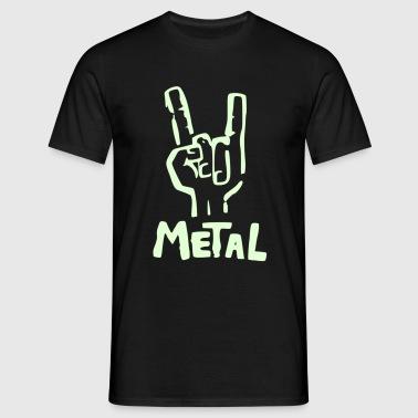 METAL - Camiseta hombre