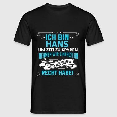 HANS - Männer T-Shirt