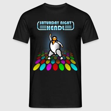 Zaterdag NIGHT CHICKEN - Chicken - Movie Satire - Mannen T-shirt