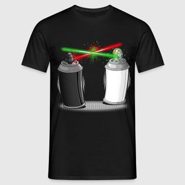 Graffiti wars - Männer T-Shirt