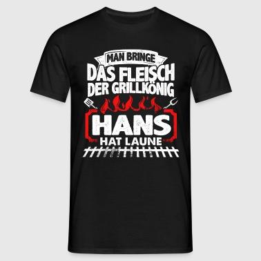 HANS - Grill  - Männer T-Shirt