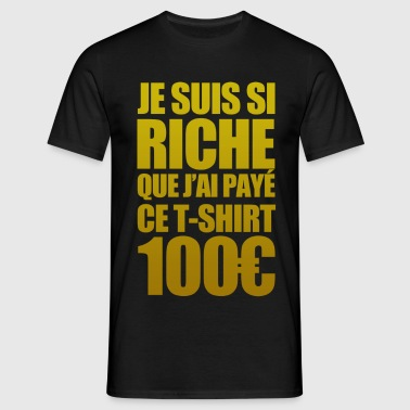 Riche - T-shirt herr
