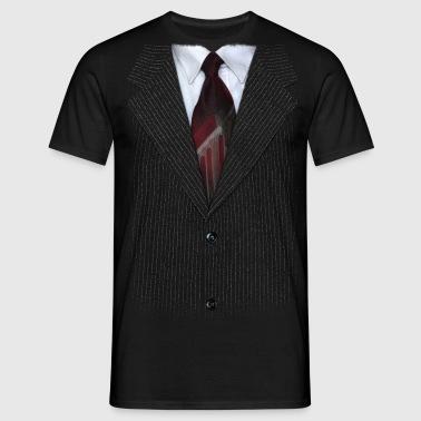 suit v2 - Mannen T-shirt