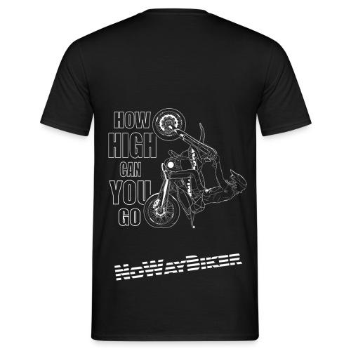 NoWayBiker - Wheelie - How High Can You go - T-skjorte for menn