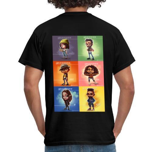 Team Popart A base Pop pop pop pop - T-shirt Homme