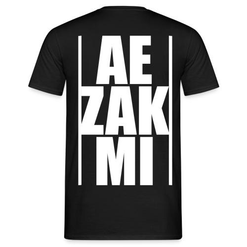 AEZAKMI-white, back - Koszulka męska