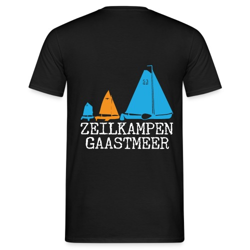 ZKG Wit - Mannen T-shirt