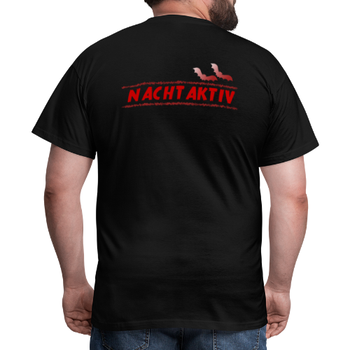 Nachtaktiv - Männer T-Shirt