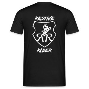 Restive logo - Men's T-Shirt