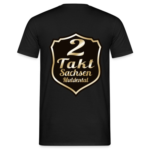 2 Takt Sachsen/ Muldental Merchandising - Männer T-Shirt