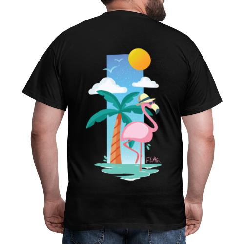 flamingo - T-shirt Homme