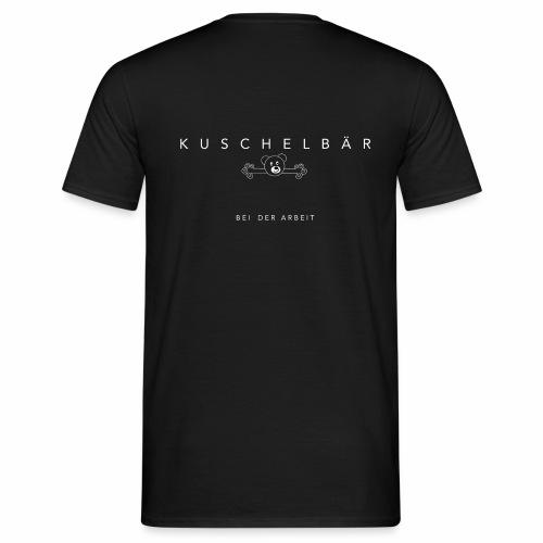 Kuschelbär bei der Arbeit - Männer T-Shirt