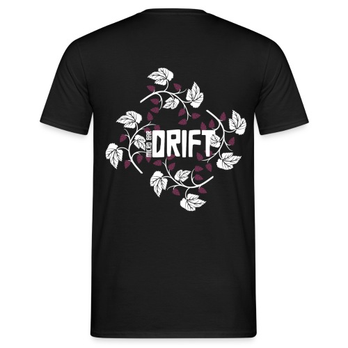 Drift Logo Black Shirt - Men's T-Shirt