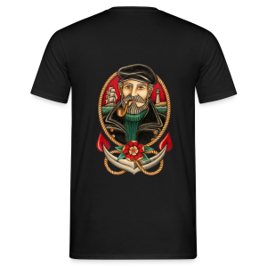 SEA CAPTAIN TATTOO - Men's T-Shirt