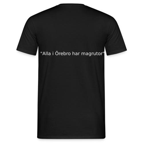 Ju jutsu förslag 2 version 1 vit text - T-shirt herr