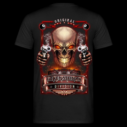 FalkenSteinar Division (Back) - Männer T-Shirt