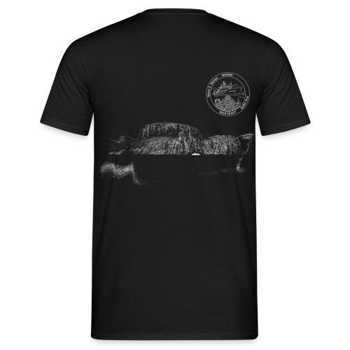MSM66 fjord black - Männer T-Shirt