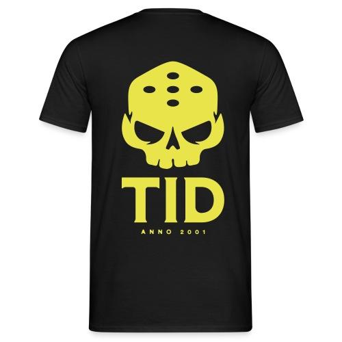 TID tryck rygg - T-shirt herr