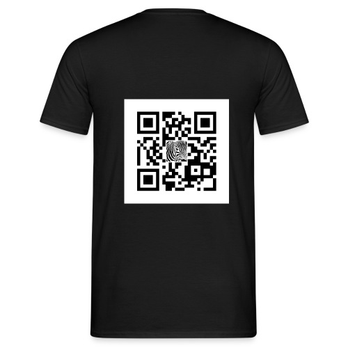 QR Code Schpiedermann - Mannen T-shirt