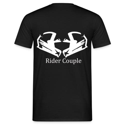 Rider Couple - Männer T-Shirt