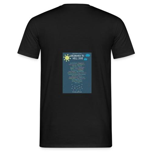 Heimweh to Hell 2018 jpg wisch - Männer T-Shirt