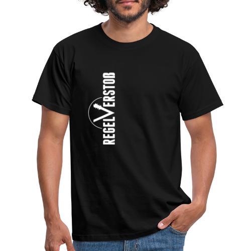 logo-black4-small-5cm - Männer T-Shirt