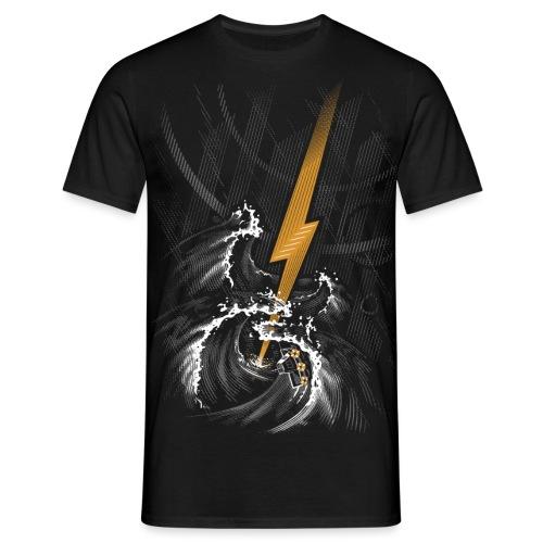 Musical Storm - Men's T-Shirt